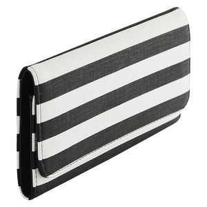 Kut from the Kloth vegan leather striped wallet